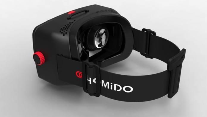 HTD - Homido & Homido midi - side view of Homido VR headset