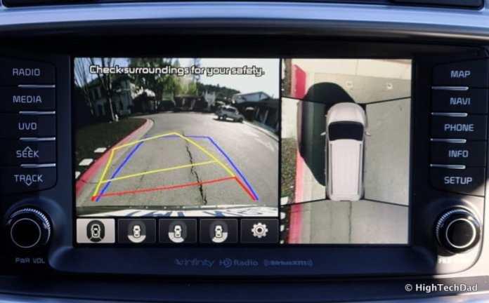 HTD 2016 Kia Sorento - backup and 360 degree camera