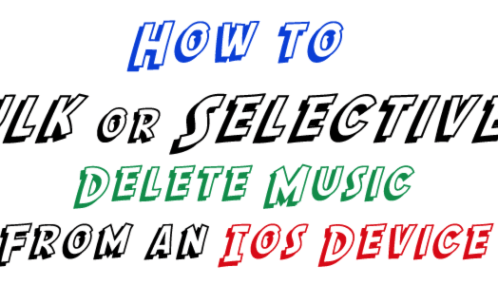 Instagram users how to clear the instagram cache save space on how to bulk or selectively delete music from your ios device easily ccuart Gallery