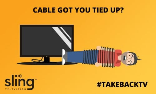 HighTechDad Sling TV - #TakeBackTV