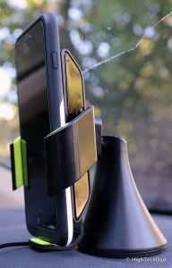 HighTechDad Qi Wireless Charging - Vü car mount