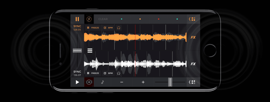 iPhone 7 Plus - two speakers