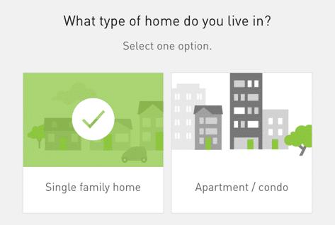 PGE - Survey (Home Type)