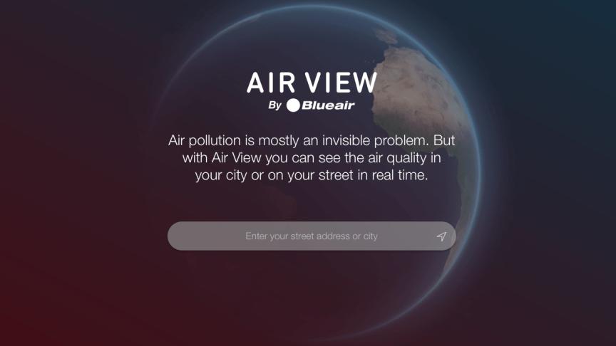Blueair - Air View splash