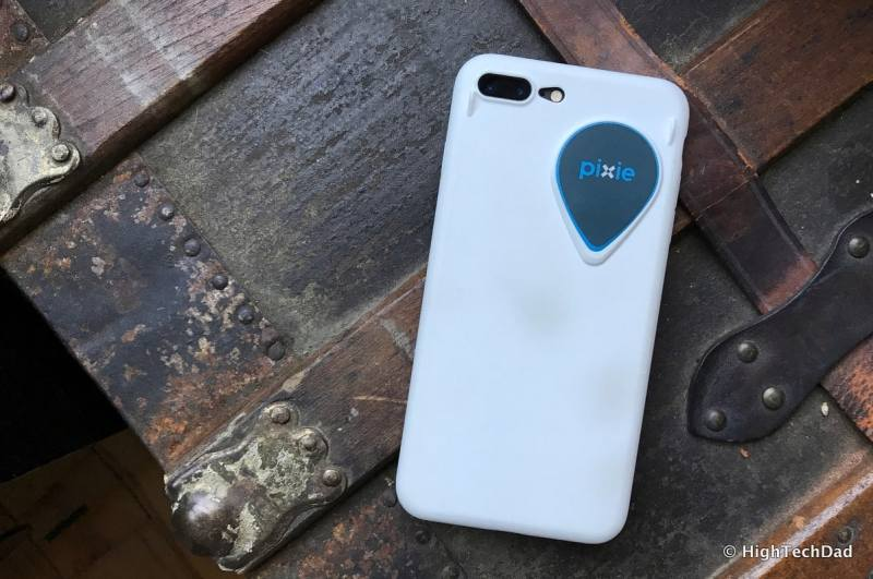 Pixie Bluetooth location system - Pixie iPhone case