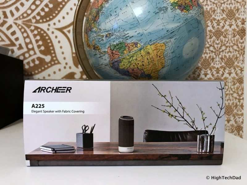 ARCHEER A225 Review - boxed up