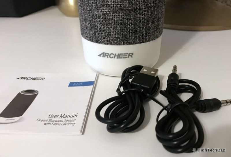 ARCHEER A225 Review - what's in the box