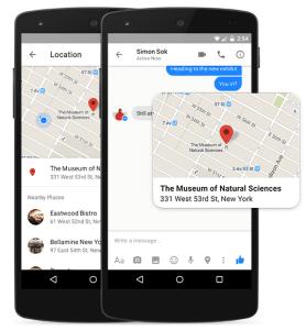 Messenger - location