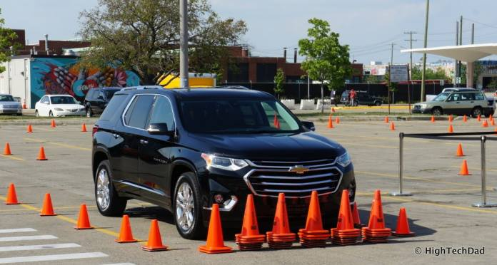 HTD 2018 Chevy Traverse - obstacle course