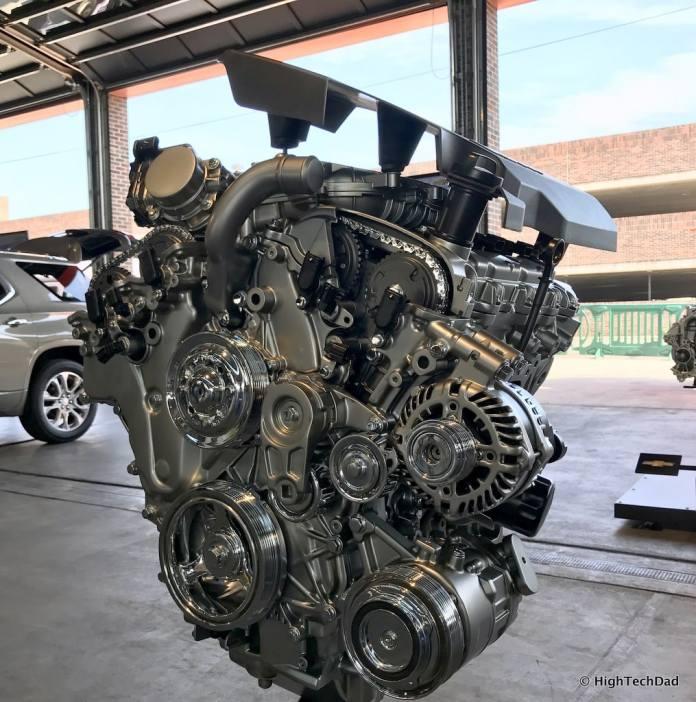 HTD 2018 Chevy Traverse - engine