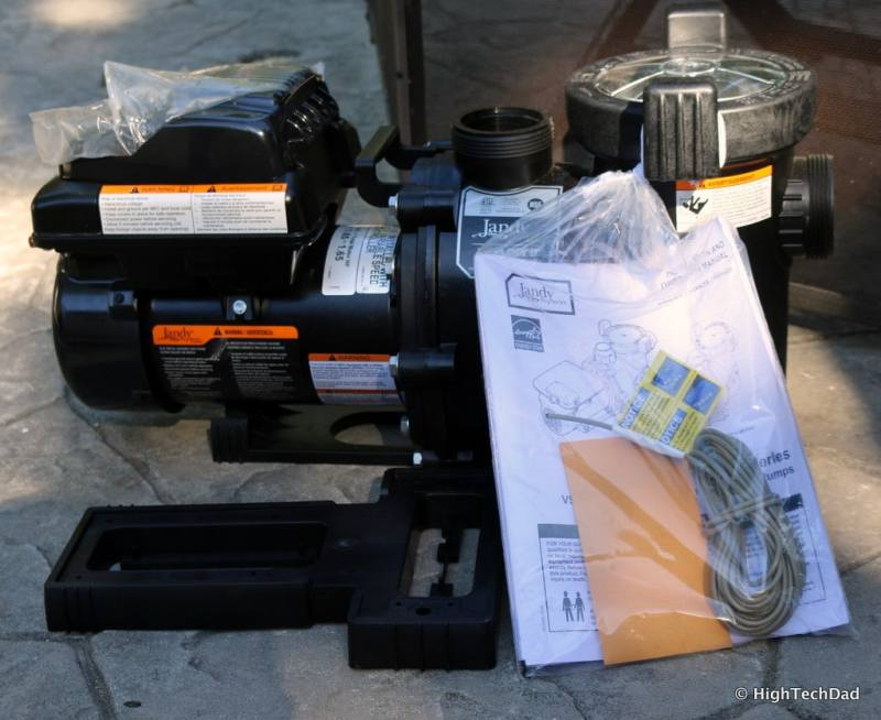 HTD Pool upgrade - Jandy Pro HP VS FloPro Variable Speed Pump