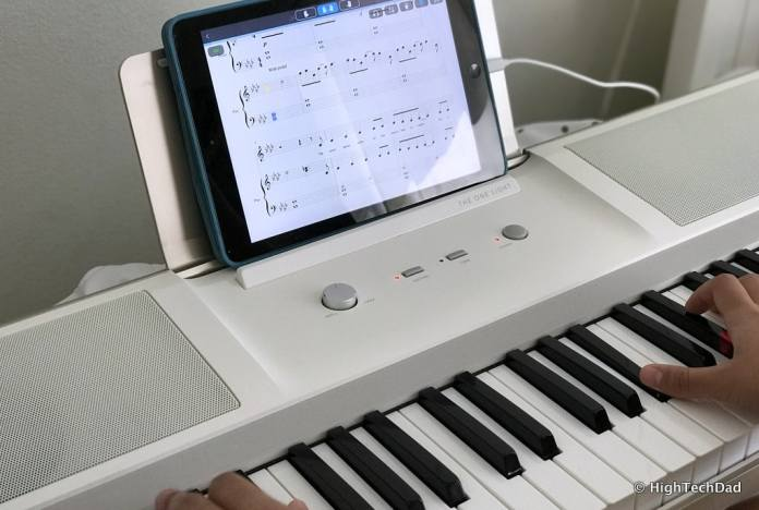 The ONE smartpiano keyboard - learning music