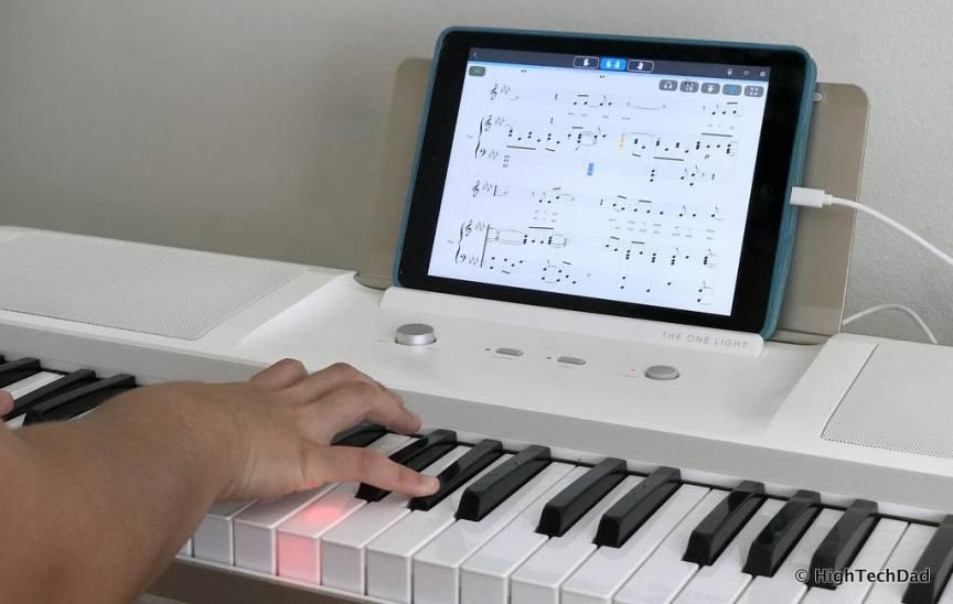The ONE smartpiano keyboard