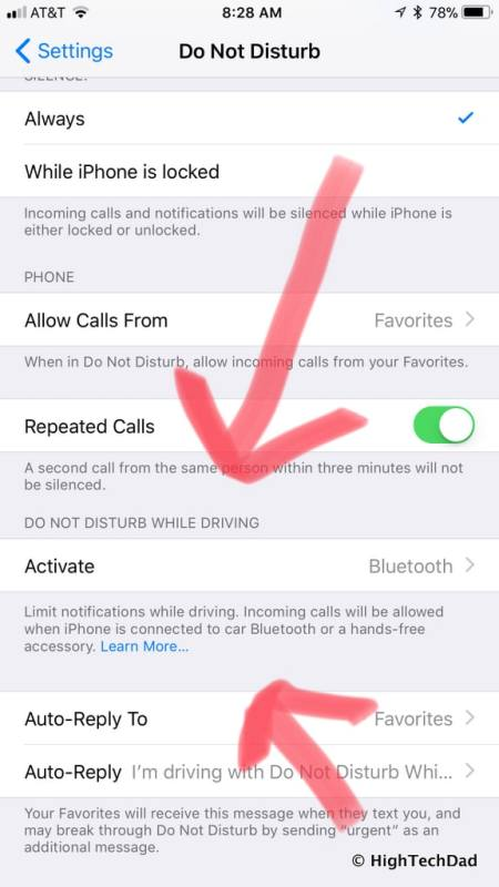 HTD's top iOS 11 features - Do Not Disturb