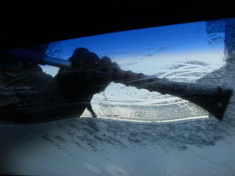Car Winter Tips - ice scraper