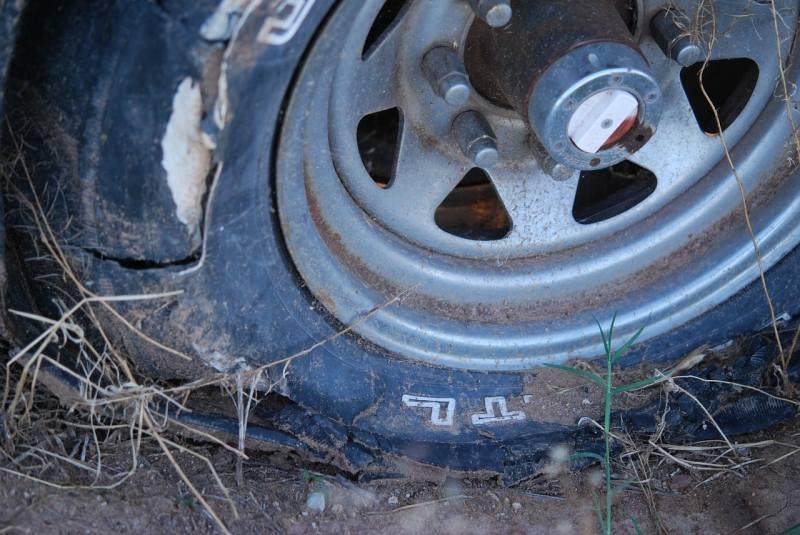 Car Winter Tips - worn tire
