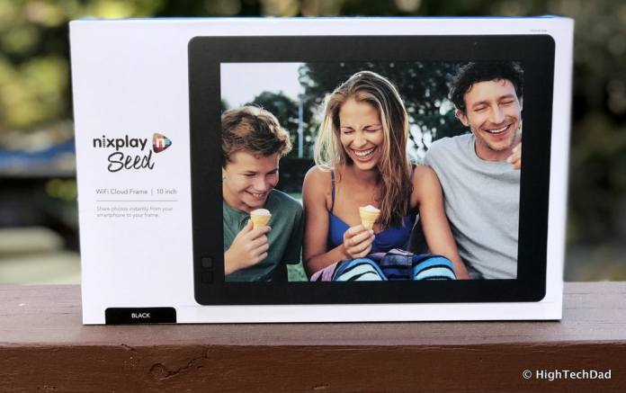 Nixplay Seed Digital Frame Review - boxed
