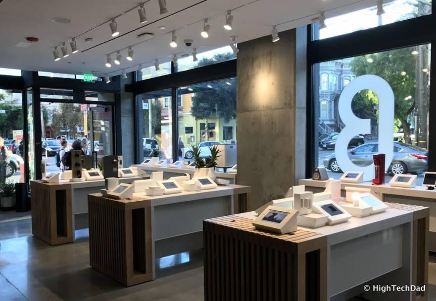 HTD b8ta shopping - displays