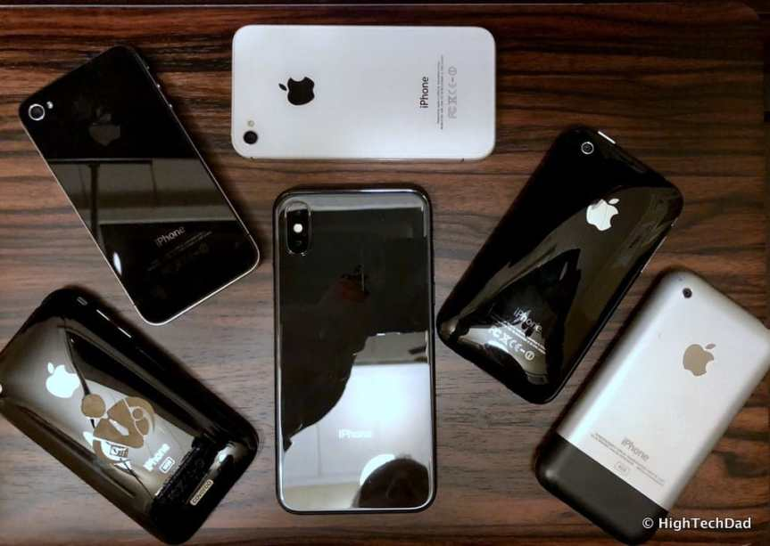 HTD Apple iPhone X - many iPhones