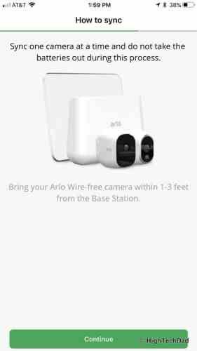 HTD NETGEAR Arlo Pro 2 - add camera