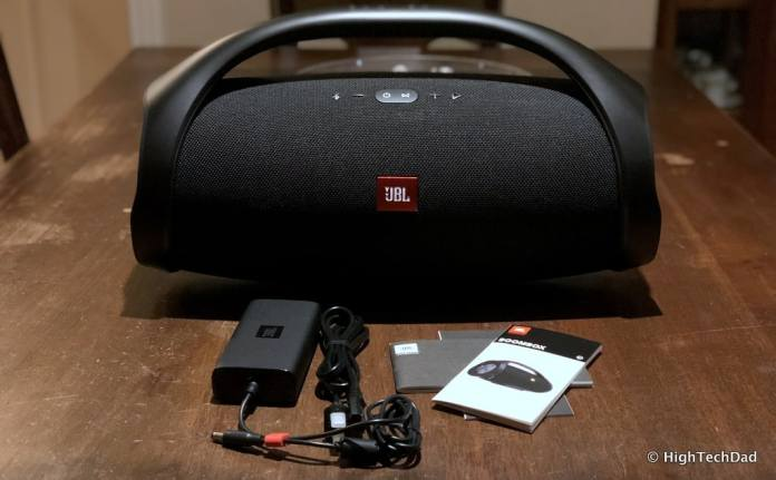 HTD JBL Boombox Bluetooth Speaker Review - what's in the box