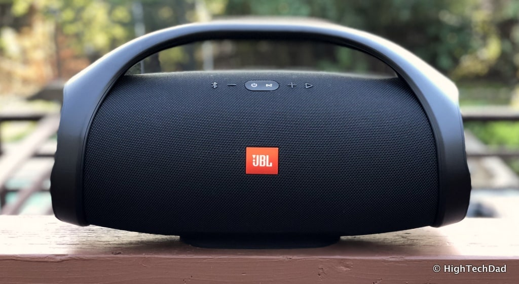 Thunderous Bass, 24-Hour Battery, Beautiful Sound - JBL Boombox