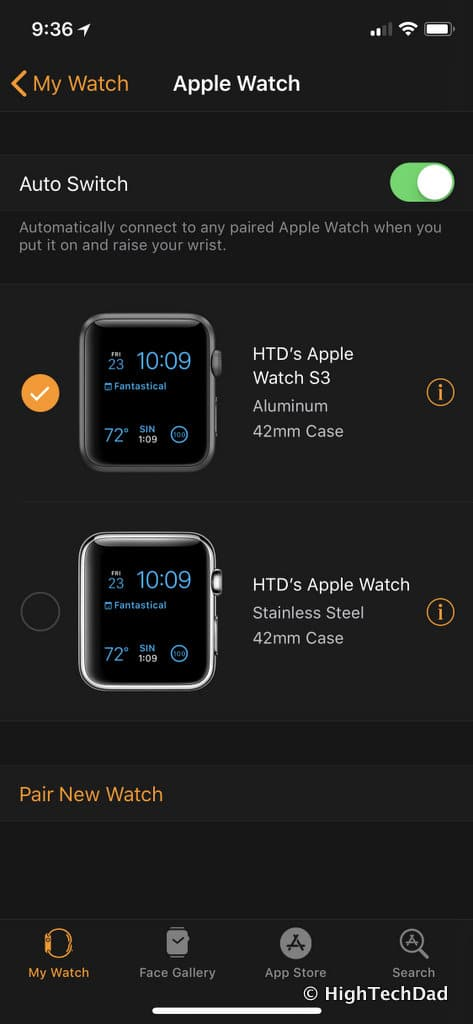 36a79108a286 This is nice because you can easily manage the settings and interfaces  directly from your iPhone. And, if you have health data being tracked on your  Watches ...