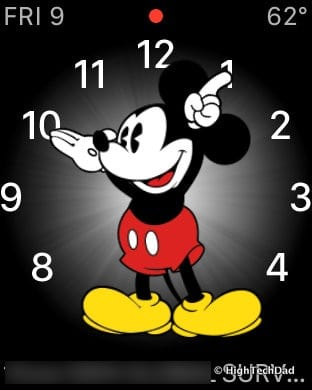 Apple Watch Tips & Tricks - Mickey Mouse