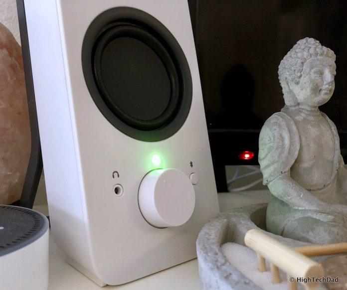 HTD Logitech Speaker review - speaker on