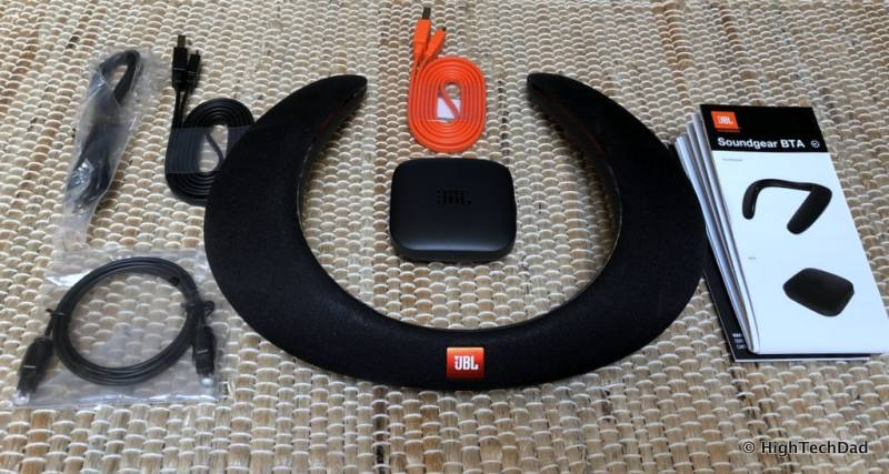 JBL Soundgear review - in the box