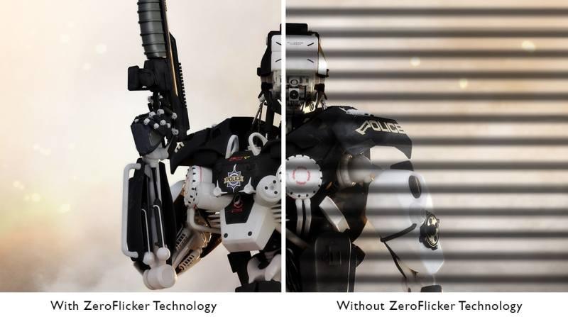 Flicker versus No Flicker