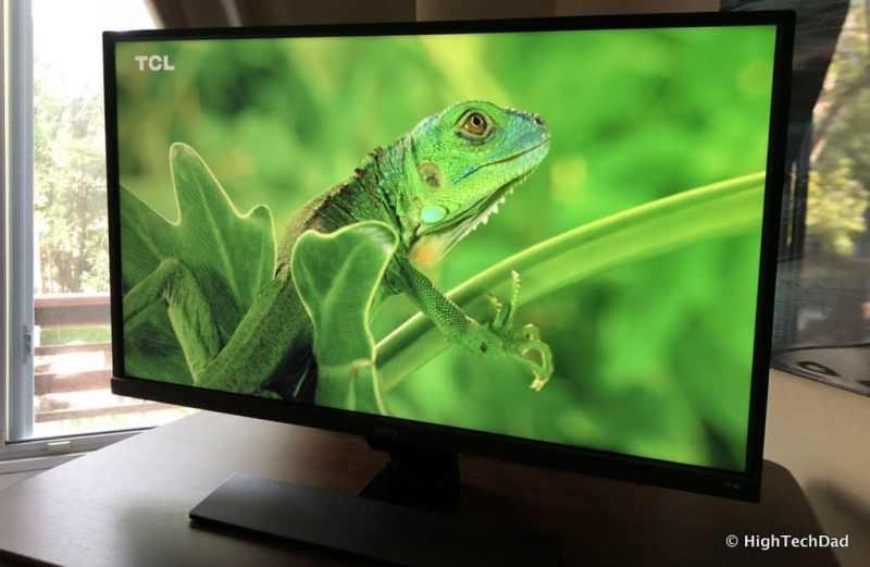 BenQ EW3270U monitor review - green lizard