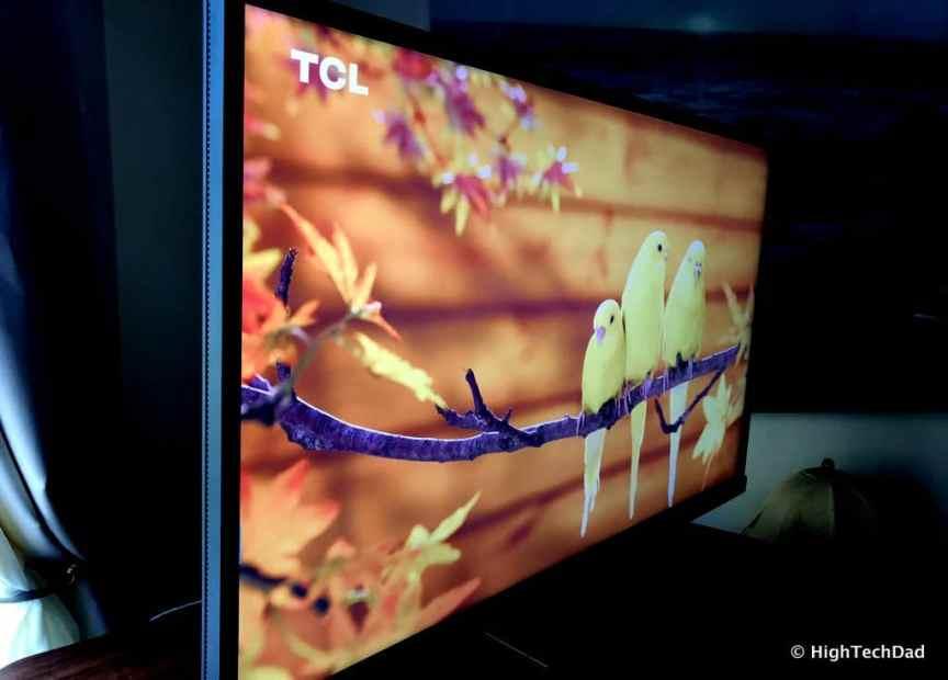 BenQ EW3270U monitor review - yellow birds