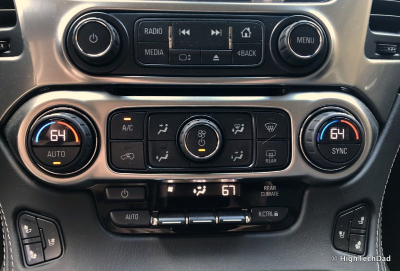 2018 Chevy Tahoe - dual climate control