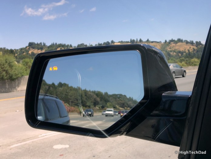 2018 Chevy Tahoe - blind spot indicators