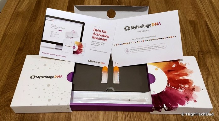 BabbleBoxx Gifts for Grads & Dads - MyHeritage DNA kit