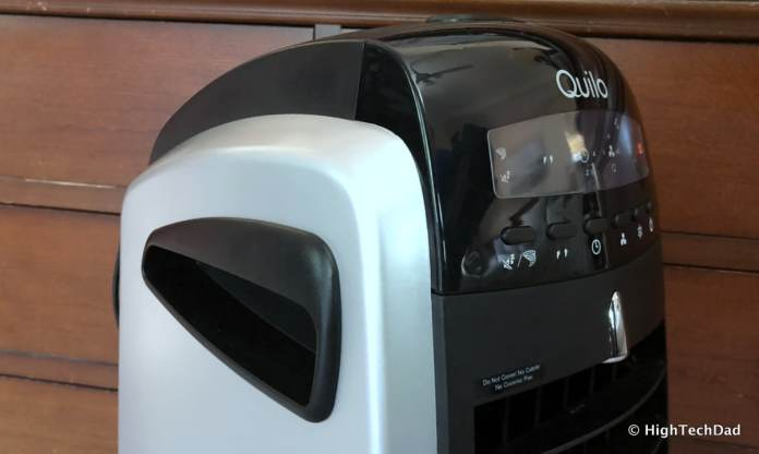 Quilo Tower Fan Review - handles