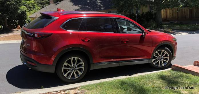 HTD 2018 Mazda CX-9 Review - side view