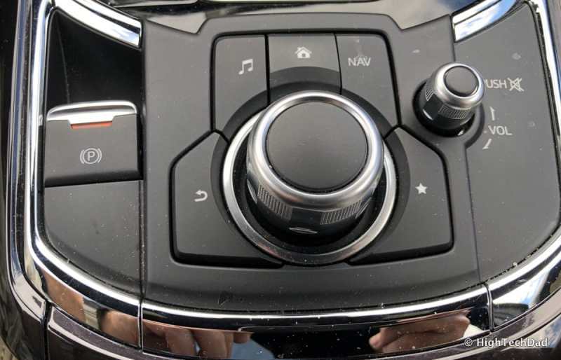 HTD 2018 Mazda CX-9 Review - jog dial controls