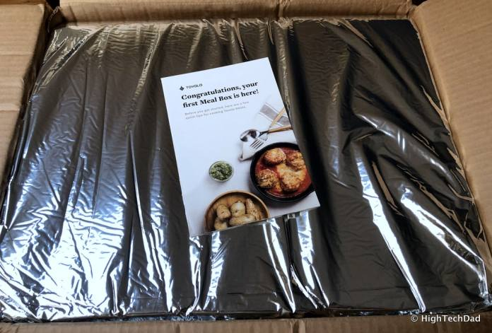 HTD Tovala Steam Oven & Meals Review - shipped meals
