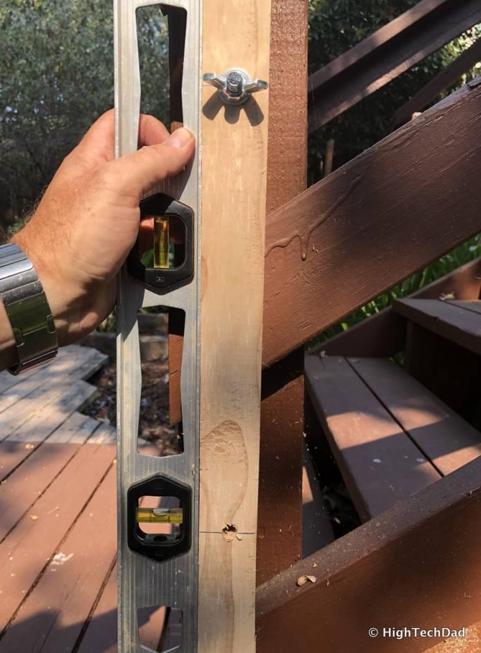 HTD DIY Deck Lighting Post - level