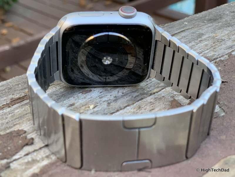 HighTechDad Apple Watch Series 4 - Digital Crown