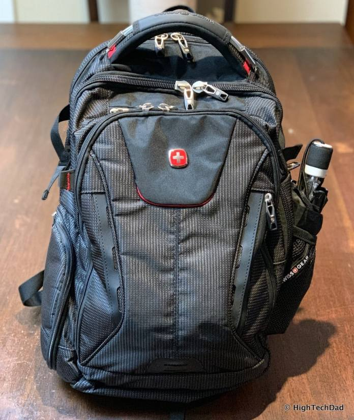 HighTechDad Swissgear 5358 USB ScanSmart Backpack Review - loaded up