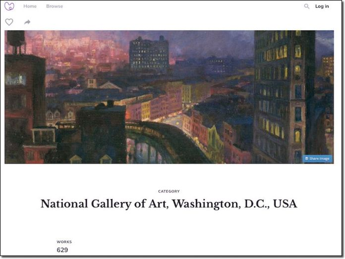 National Gallery on Meural