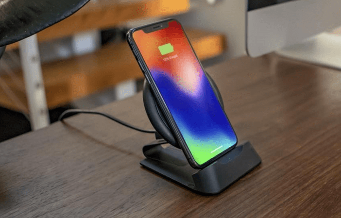 HighTechDad Review Mophie Charge Stream Desk Stand - official Mophie photo