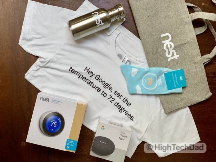 "HighTechDad Habitat for Humanity ""Home is the Key"" - Nest partner"