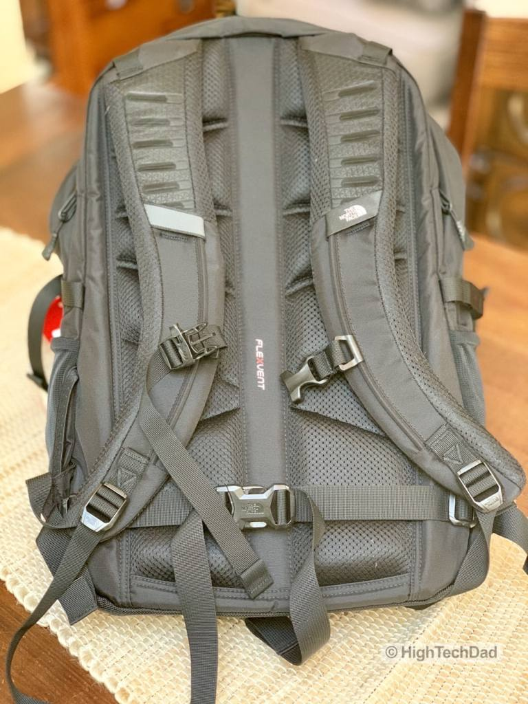 HighTechDad Backpacks.com The North Face Borealis backpack review - straps