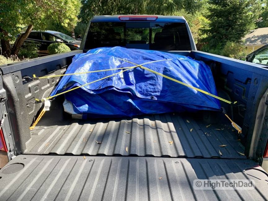"HighTechDad Review 2019 Chevy Silverado - the ""blue burrito"""