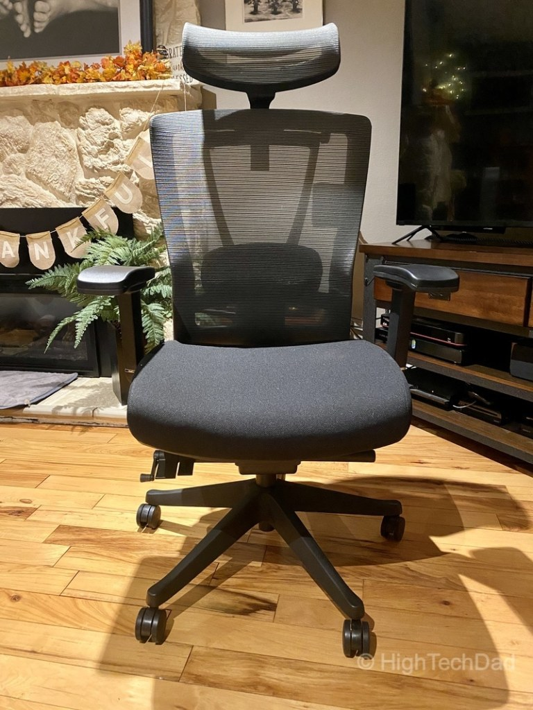 HighTechDad review - Autonomous ErgoChair 2 - front view