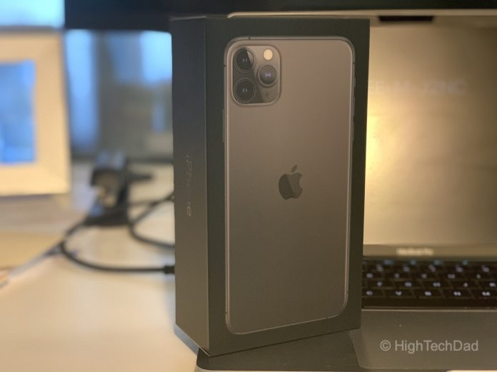 HighTechDad tests iPhone 11 Pro Max - in the box